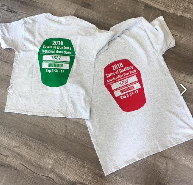 DuxburyBeachPermitTshirt