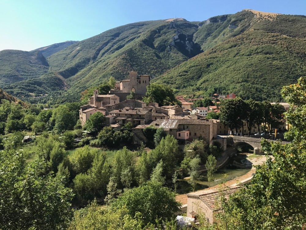 Castello de Brancaleoni (Piobbico, Italy)