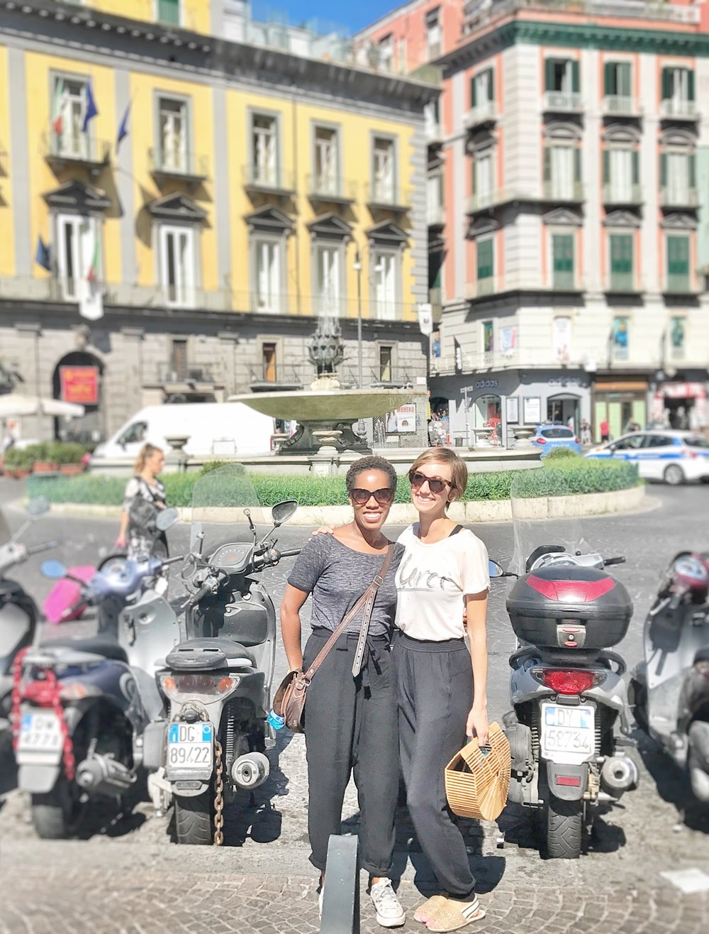 Jess and I in Napoli