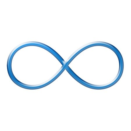 Infinity Sign: Representative of the 5th chakra Vishuddha. The house of our right to speak and communicate authentic truth as well as to be heard and to listen deeply.