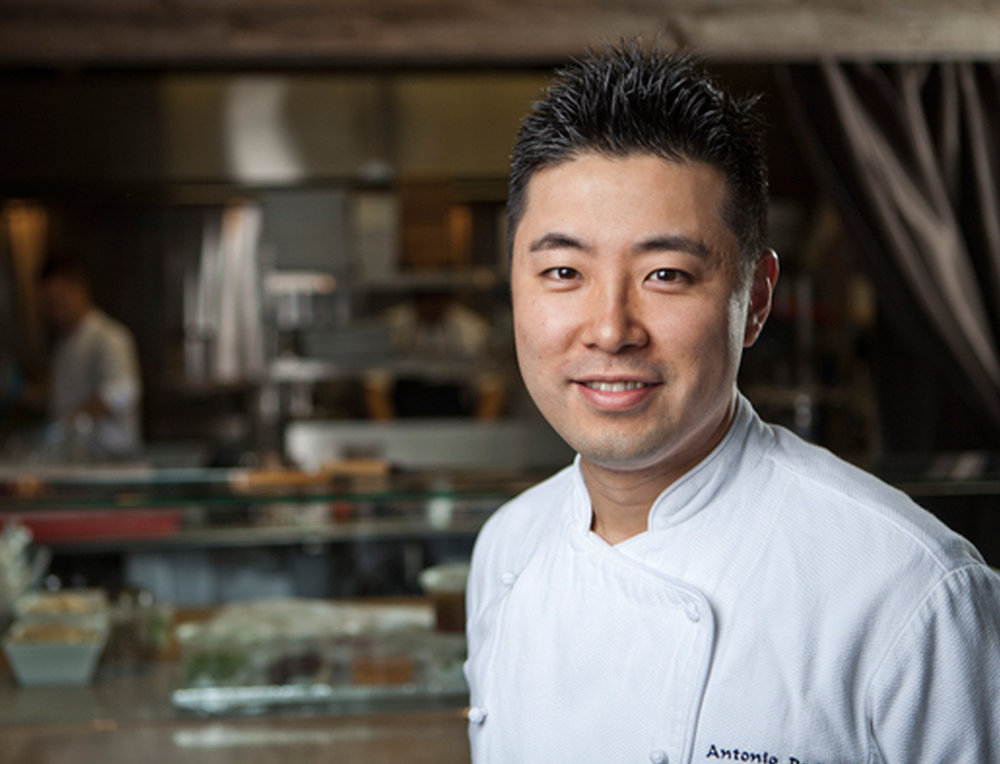 Antonio Park - Partner - Chef Antonio Park, the popular chef behind the nationally recognized Park restaurant in Montreal, is an acclaimed chef in Tokyo, Osaka, New York, Toronto, and Montreal.His culinary tastes spring from an eclectic childhood being raised by Korean parents in Argentina, Paraguay, and Brazil.Expanding his repertoire out of the kitchen, Antonio is a judge on the hit Food Network TV series Chopped Canada.As a partner of the A5 family and head of culinary experience, the celebrity chef is one of the masterminds behind Jatoba, Flyjin and most recently Kampai Garden.Stay tuned for new projects.