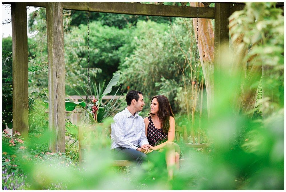 Lianne and Daniel- Mercer Botanical Garden Engagement Session ...