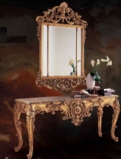 Caspani Tino Консоль с зеркалом