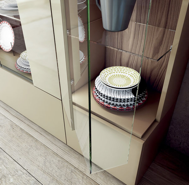 6_Витрина корпусная мебель Caccaro Zona living il Tempo Киев.jpg