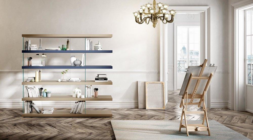 2_Полки стеллаж корпусная мебель Lago Air il Tempo Киев.jpg