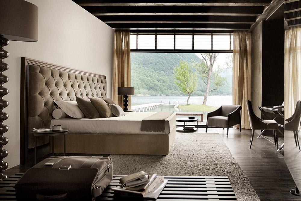 1_Кровать деревянная Италия современный Letti Porada il Tempo Киев.jpg