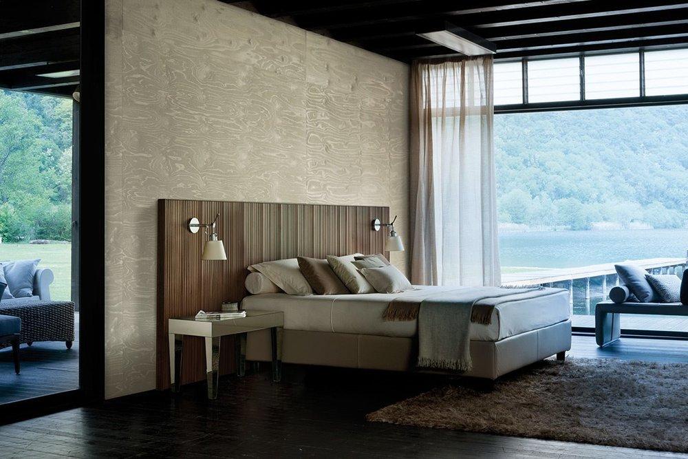 2_Кровать деревянная Италия современный Pentagramma Porada il Tempo Киев.jpg