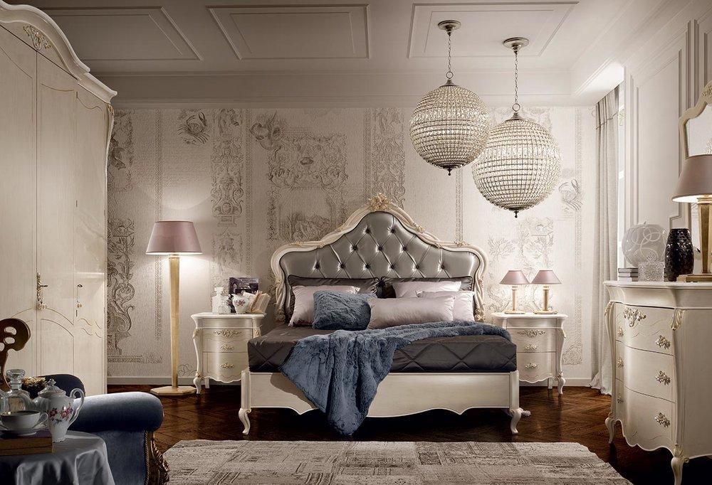 2_Спальня кровать деревянная Италия Certosa Signorini Coco il Tempo Киев.jpg
