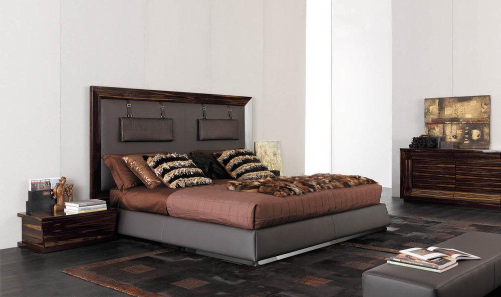 2_Кровать в стиле арт деко недорого Италия Prestige GC Colombo il Tempo Киев.jpg