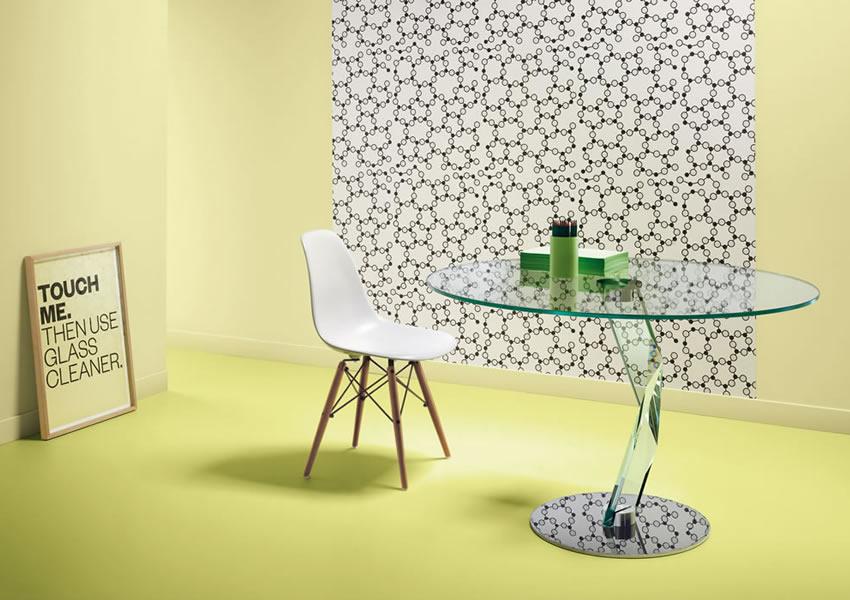 2_Круглый стеклянный стол на кухню Италия Bakkaratalto Tonelli il Tempo Киев.jpg