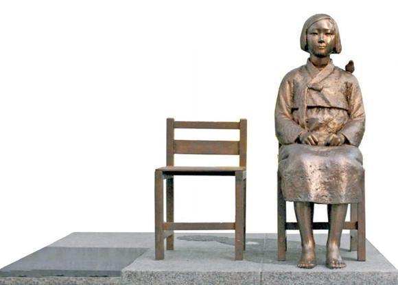 Comfort Women statue: Japanese embassy in Seoul, South Korea