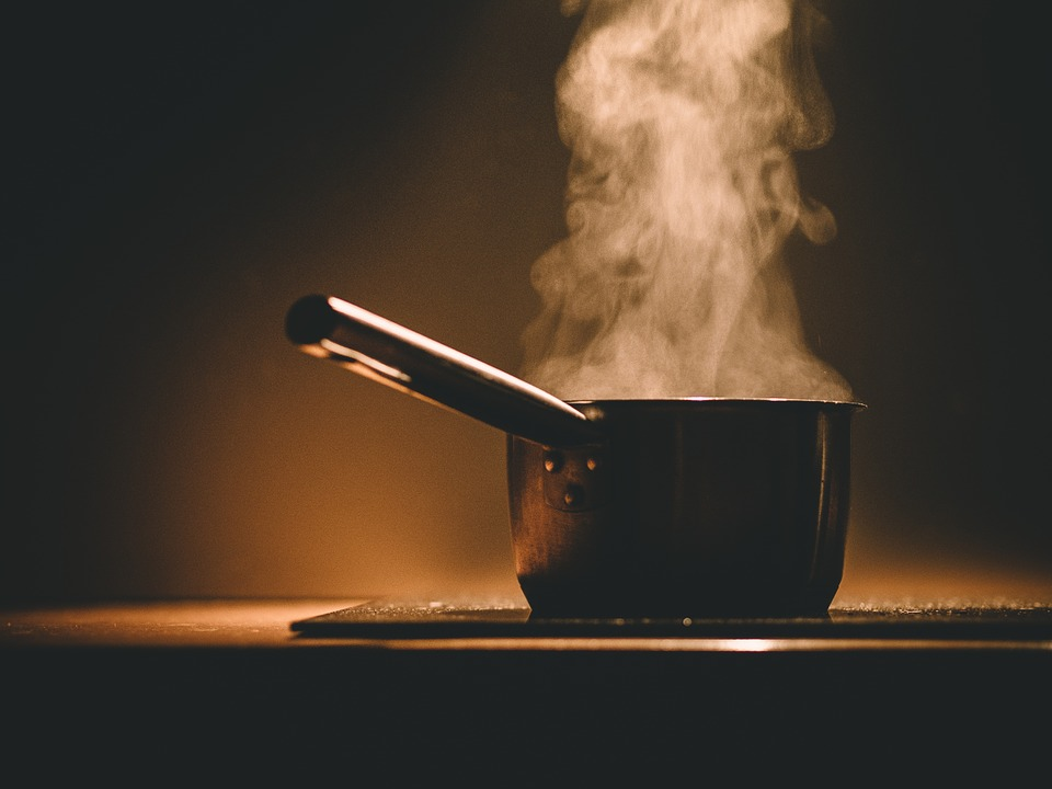 pot steaming