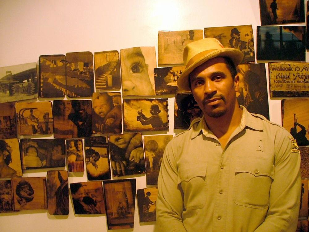 Keba Konte (Mixed Media Artist)