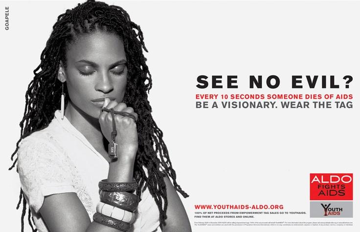 ALDO AIDS CAMPAIGN