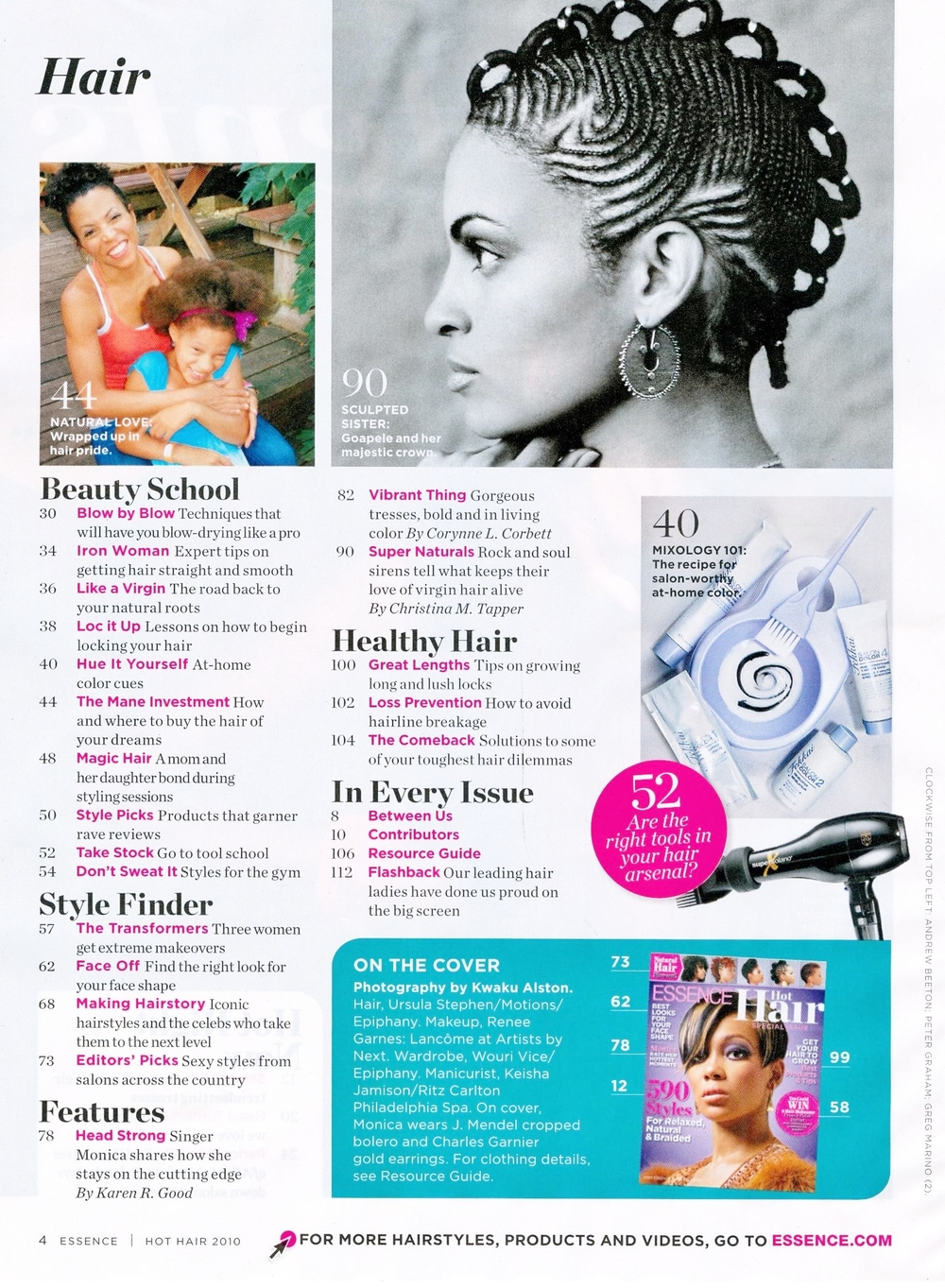 ESSENCE HAIR MAGAZINE