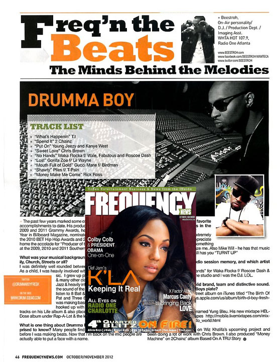 FREQUENCY MAGAZINE