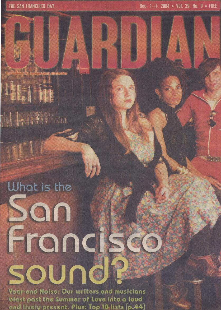 SF BAY GUARDIAN