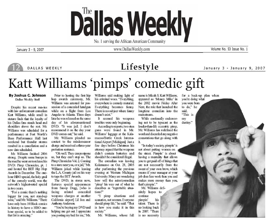 DALLAS WEEKLY