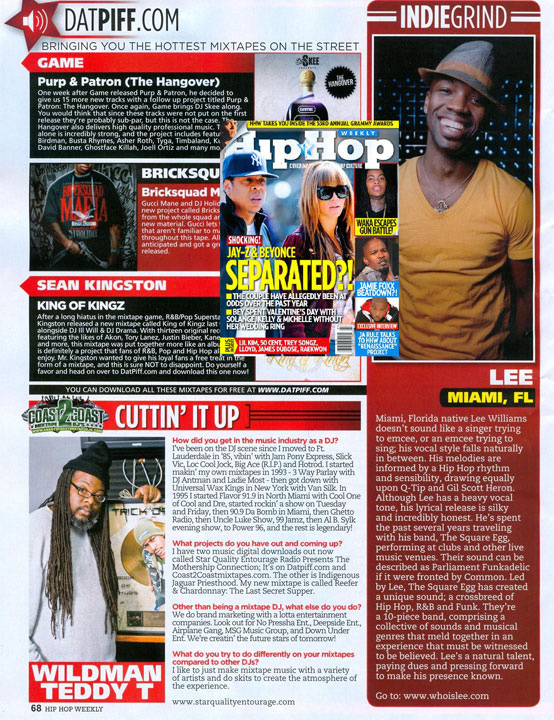HIP HOP WEEKLY