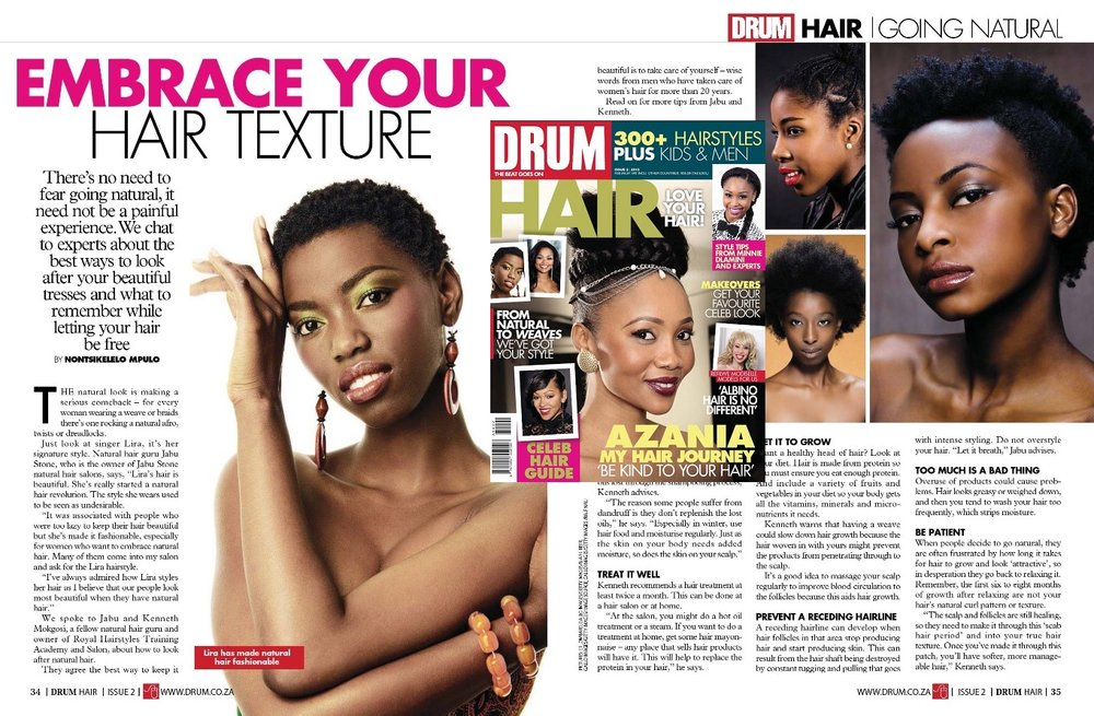 DRUM HAIR MAGAZINE