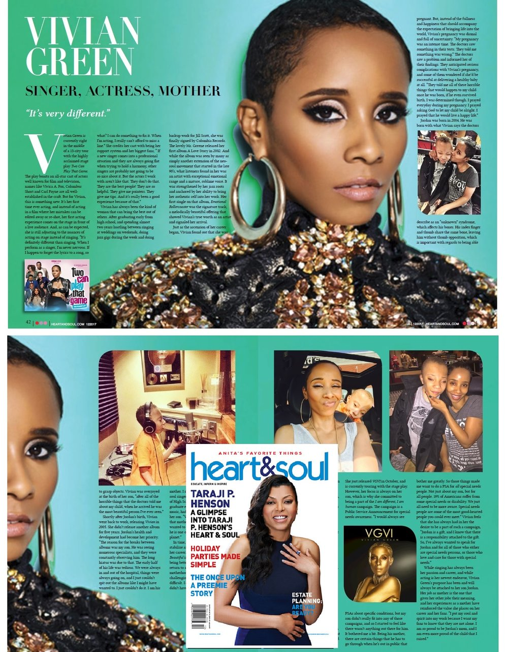HEART AND SOUL MAGAZINE