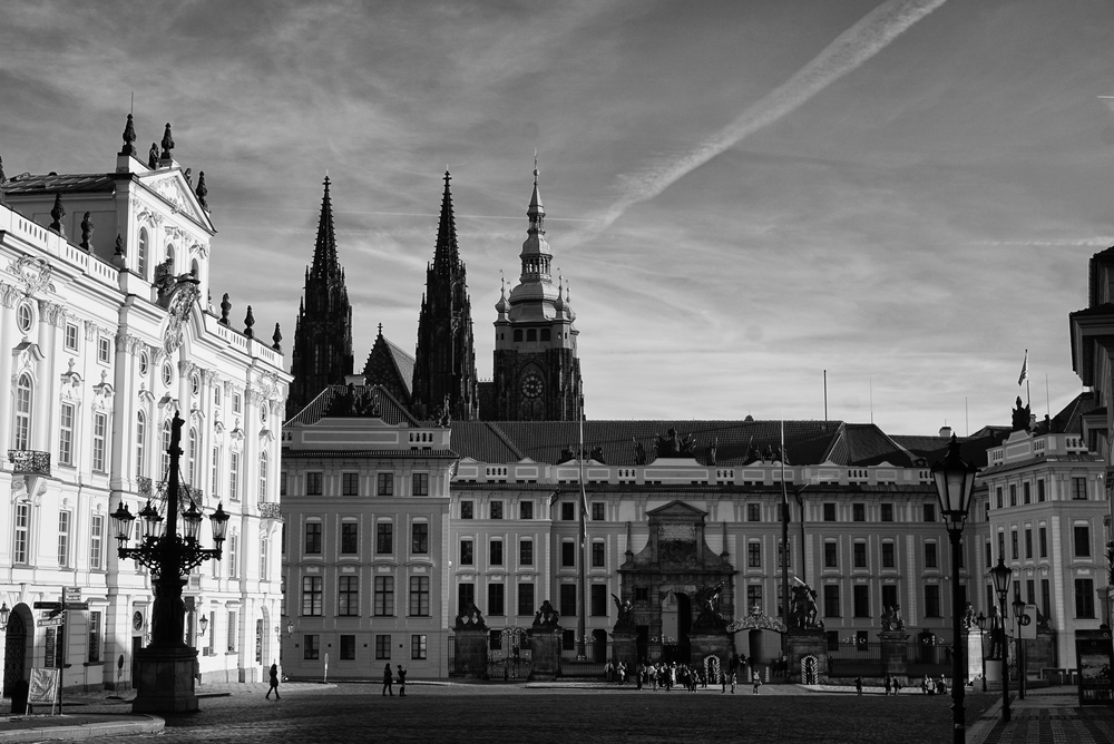 Prague Castle . Copyright One Girl And Her Camera