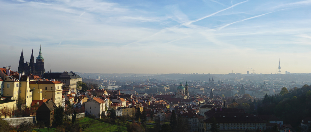 View from Petrin Hill. Copyright One Girl And Her Camera