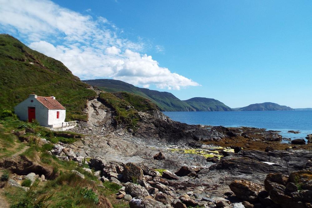 Fisherman's cottage, Niarbyl, Isle of Man