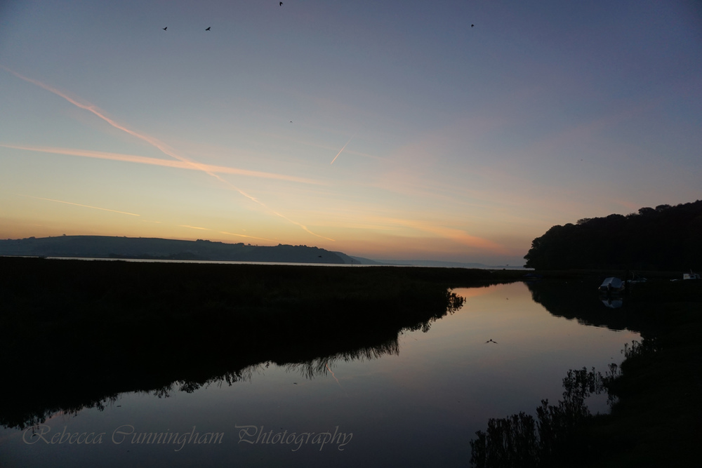 Sunrise Laugharne