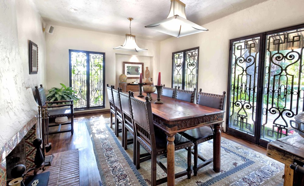 006 dining room 2 1750 North Crescent Heights Boulevard Los Angeles Malibu For Sale The Malibu Life Team Luxury Real Estate.jpg