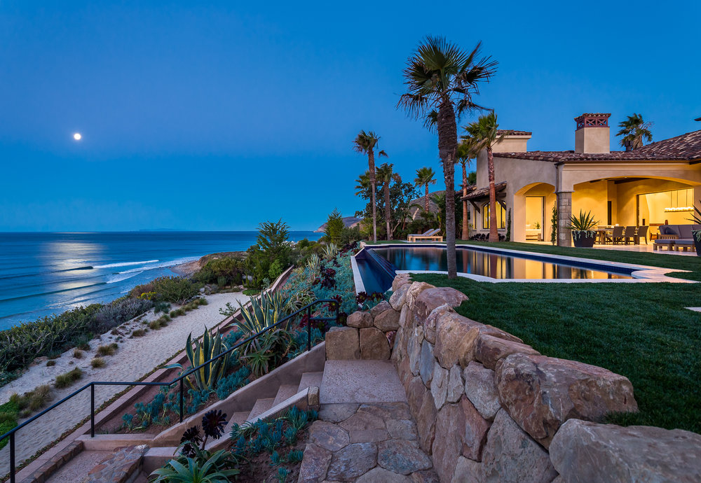 Ocean Top Spanish Estate