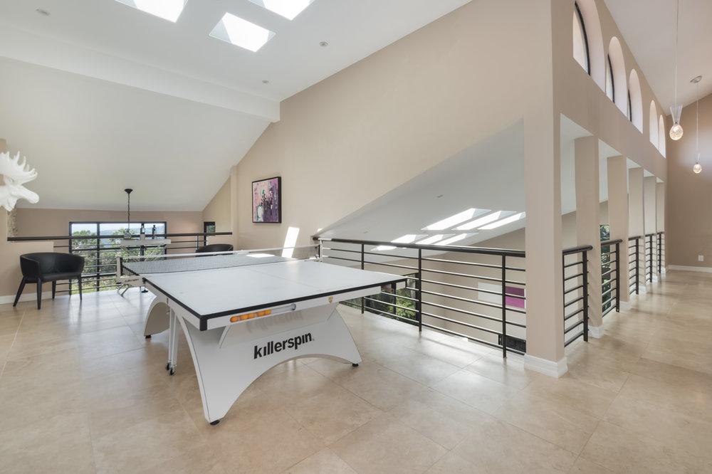 016 upstairs ping pong 2 214 Loma Metisse Malibu For Sale The Malibu Life Team Luxury Real Estate.jpg