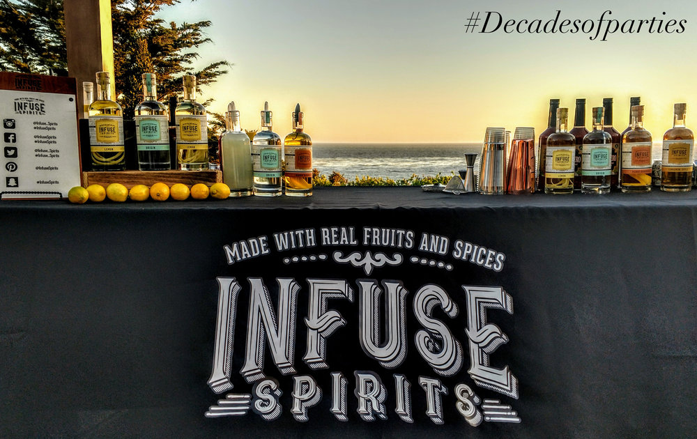 Infused spirits vodka sponsor