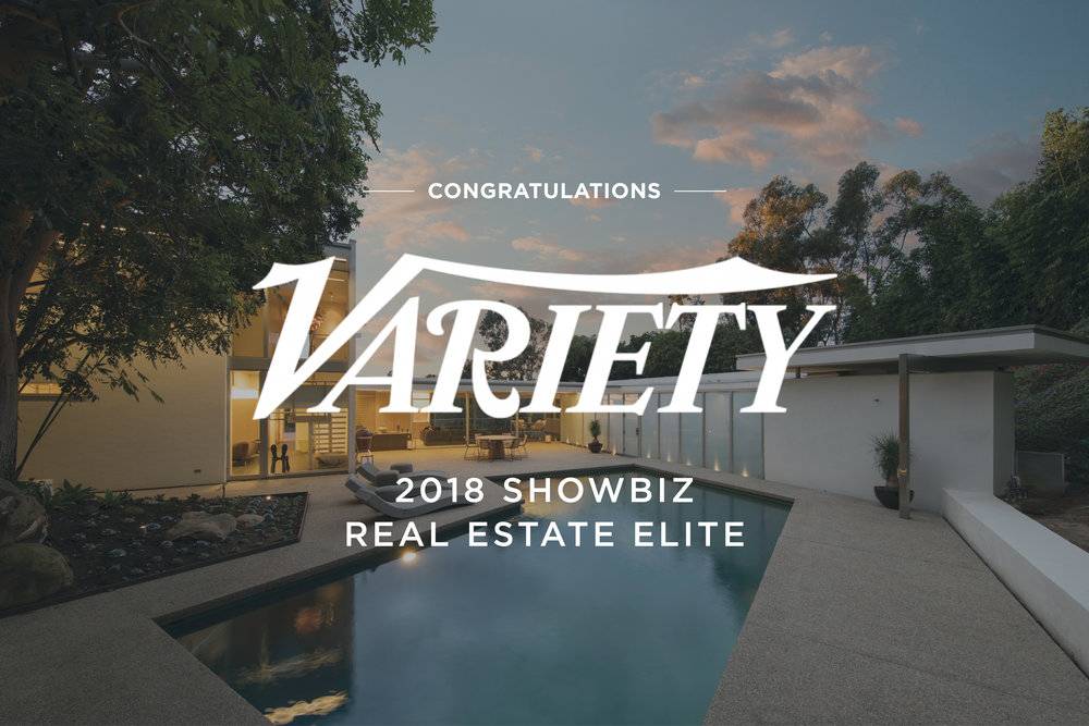 "Variety's ""Showbiz Real Estate Elite"" -"