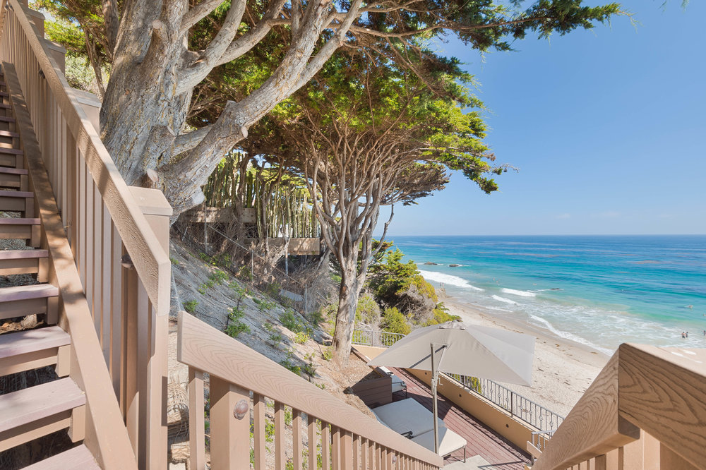 025 Stairs to beach Broad Beach For Sale Lease The Malibu Life Team Luxury Real Estate.jpg