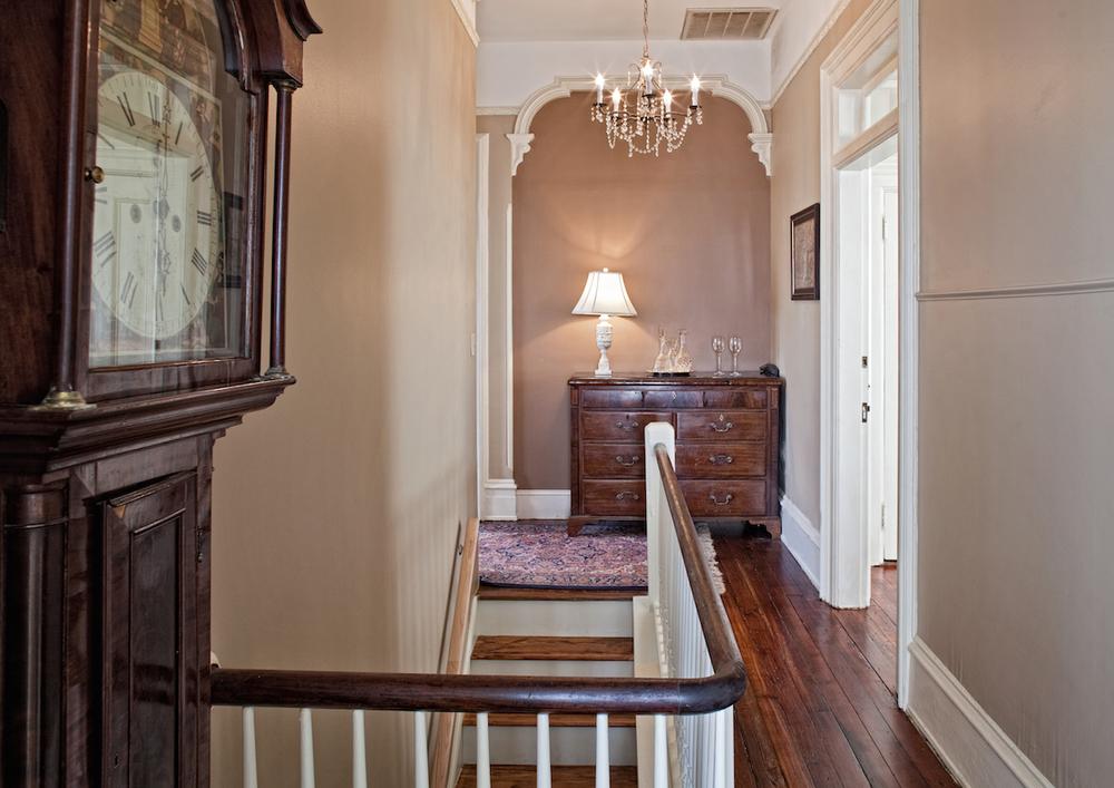 Printmakers Inn Bed and Breakfast in Savannah High Cotton Hallway.jpg