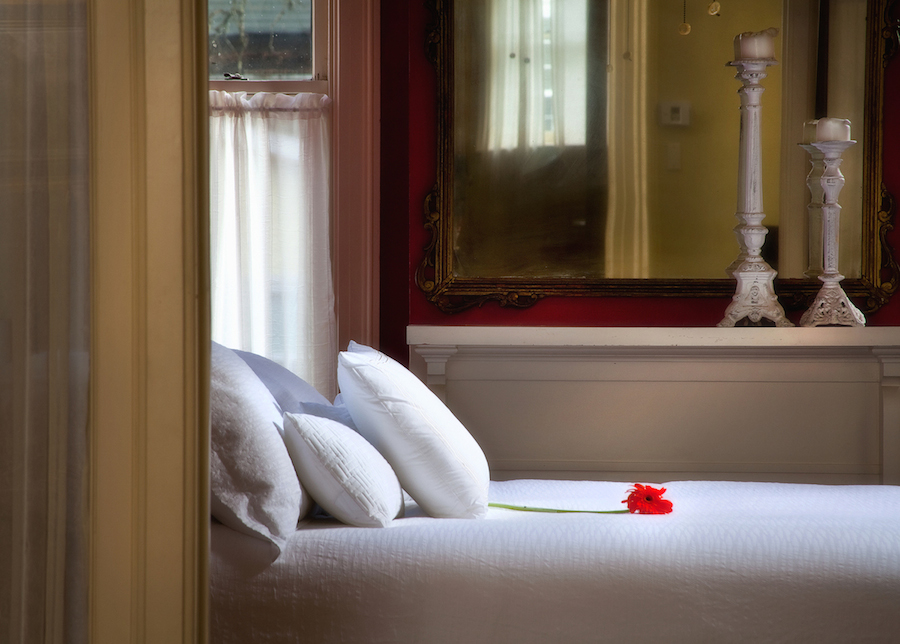 Top Bed and Breakfast in Savannah GA, Printmaker's Inn Button Bedroom.jpg