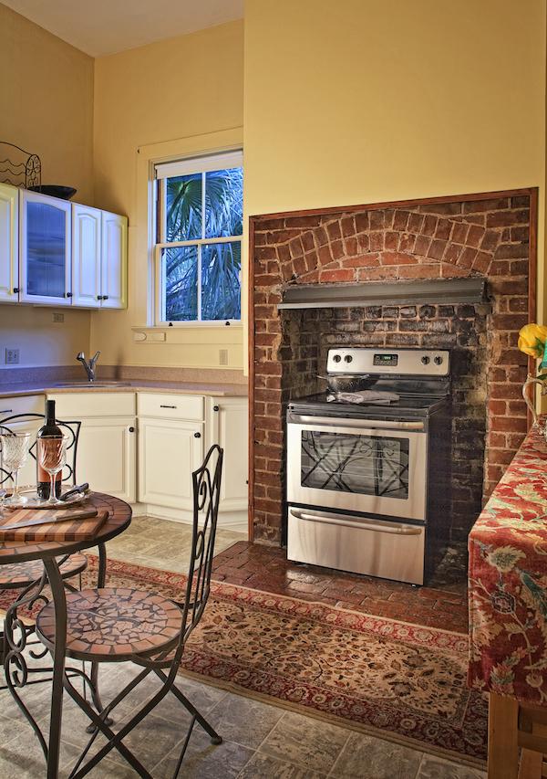 Top Bed and Breakfast in Savannah, Printmakers Inn Kitchen.jpg
