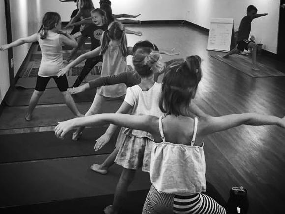 AM Yoga Kids Girl Power Class Description