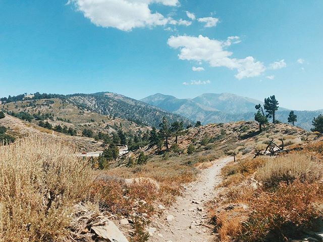 The Pacific Crest Trail.  Southern California.