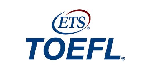 Image of the ETS TOEFL Logo