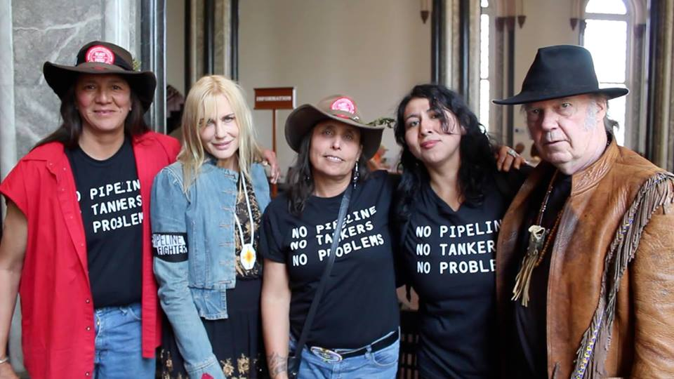Lorna, Darryl Hannah, Me, Suze Leon, Neil Young    teeshorts..jpg