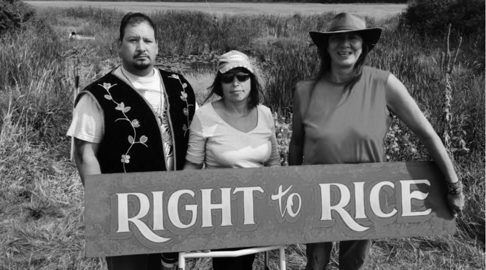 I have worked with our tribal members and others to defend our land from genetically engineered wild rice and oil pipelines and to honor the 1855 treaty.