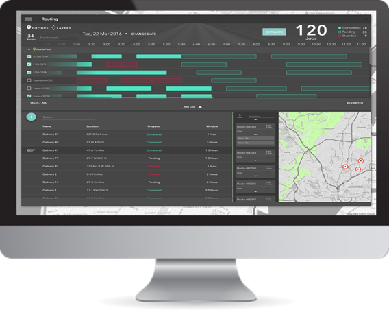 User Friendly and Powerful Schedule and Route Optimization Solution