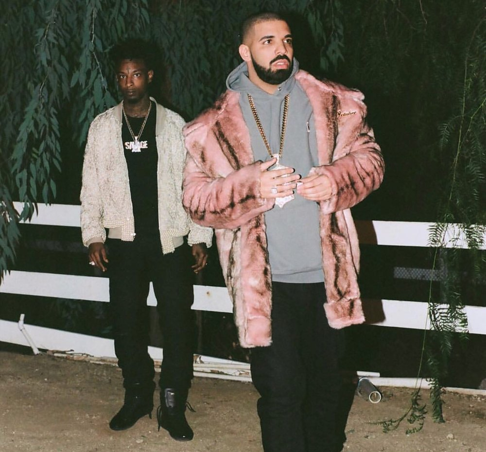 21 Savage - Issa feat. Drake - If your b*tch spend the night, issa sex.