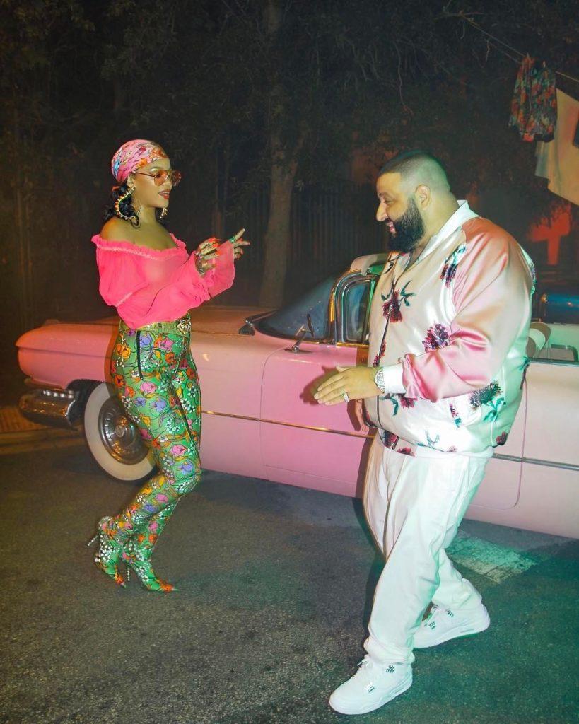 DJ Khaled - Wild Thoughts feat. Rihanna and Bryson Tiller (visuals) - Grateful album out June 23