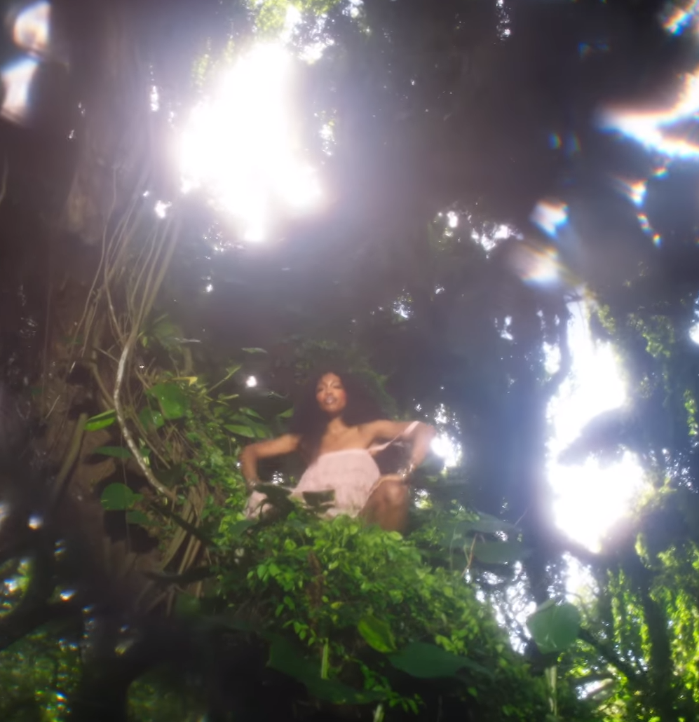 SZA - Garden (Say It Like Dat) - Visuals featuring Donald Glover.