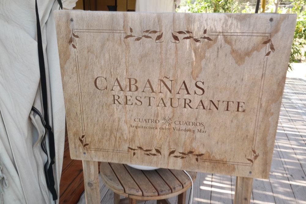 Cabañas Restaurante at Cuatro Cuatros Ensenada Mexico