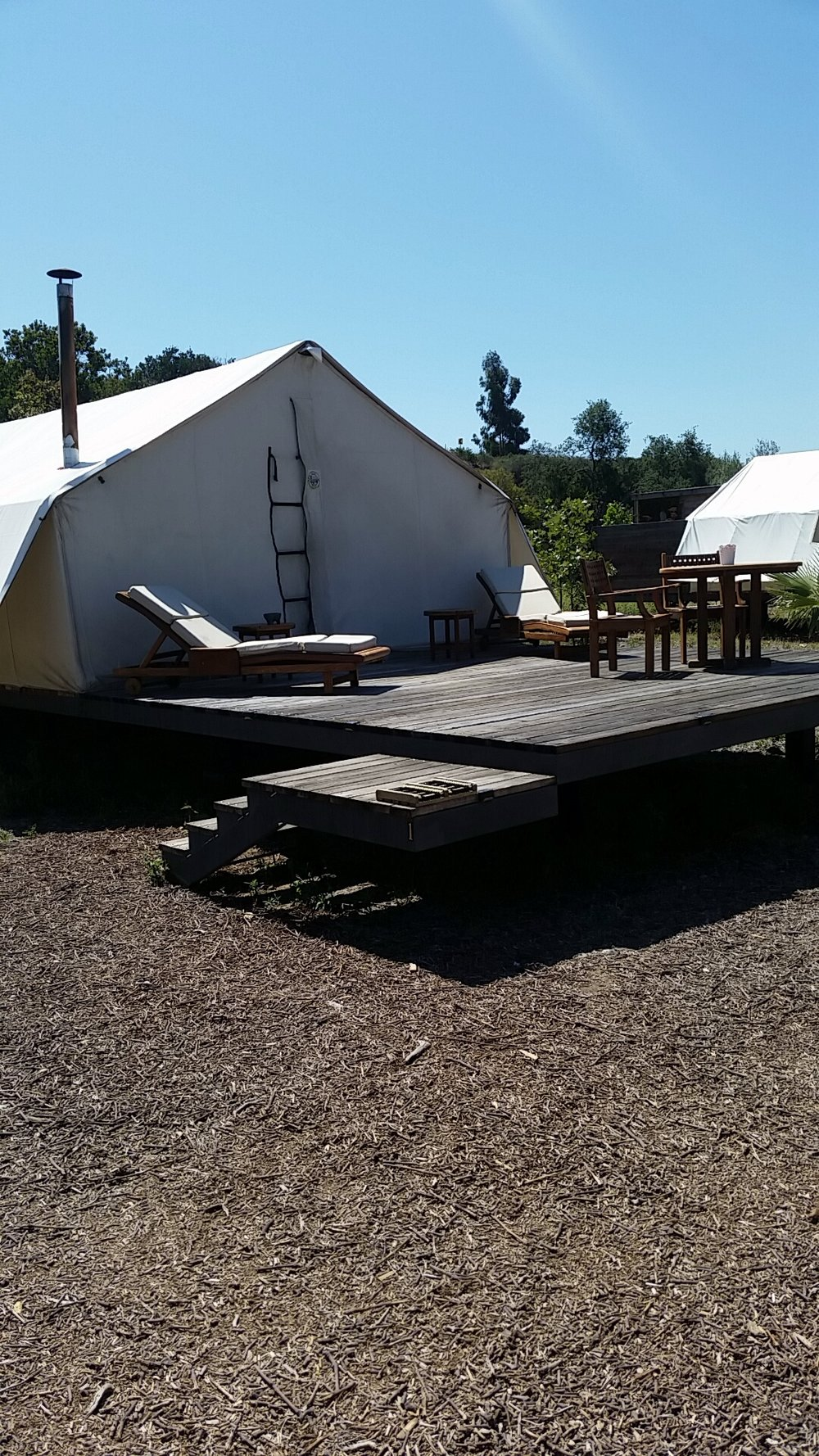 Glamping in Ensenada MX Wine Country