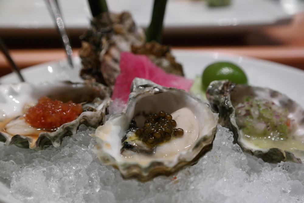 Oysters Nobu Style